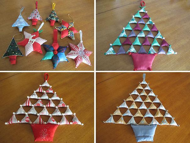 Patchwork Christmas Decorations